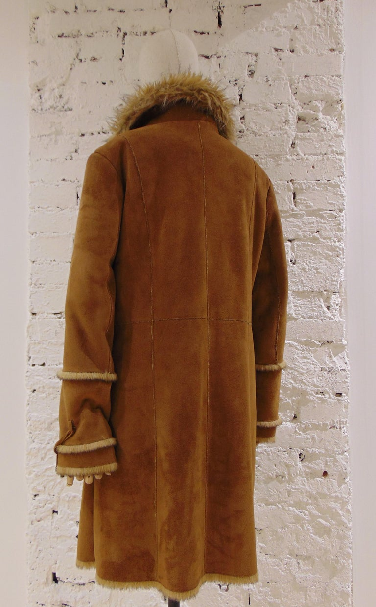 Women's or Men's Balmain Brown Coat For Sale