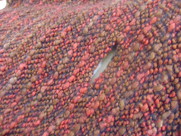 Wool multicoloured handmade cape For Sale 2