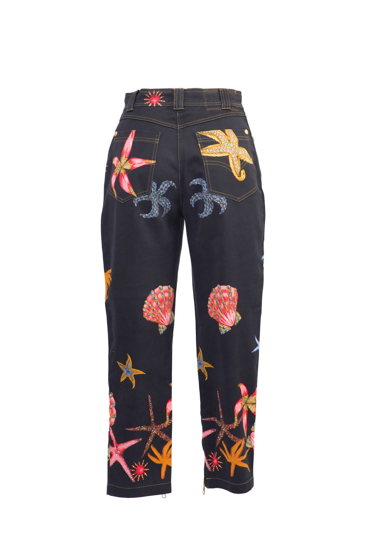 Gianni Versace Vintage Trousers Seashell collection.