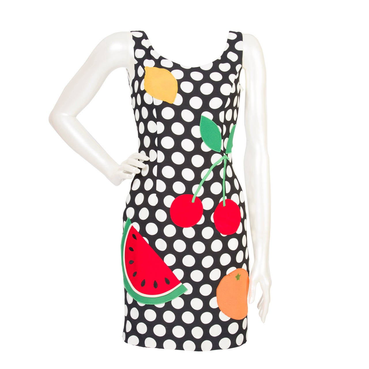 Vintage Cheap & Chic by Moschino Dress _ Watermelon Collection 1