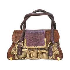 2000 Dolce & Gabbana Python Skin Bag