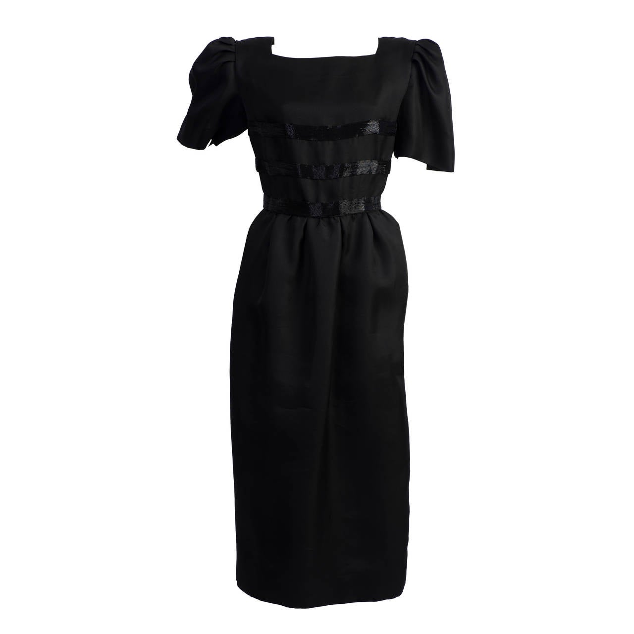 1980s Renato Balestra Black dress