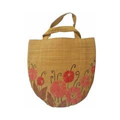 1990s James Puech handicraft bag