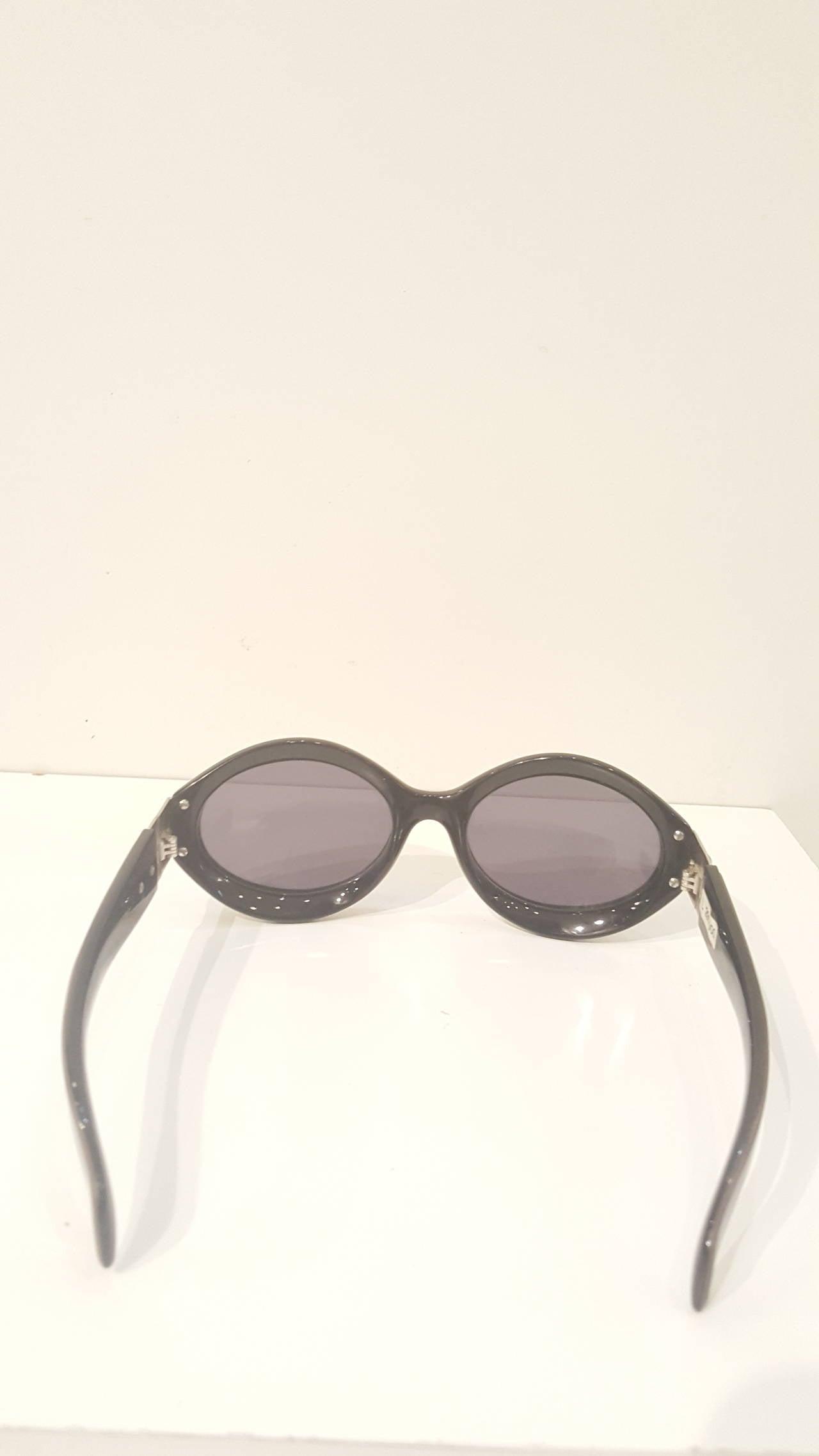 Women's 1980s Escada brown sunglasses For Sale