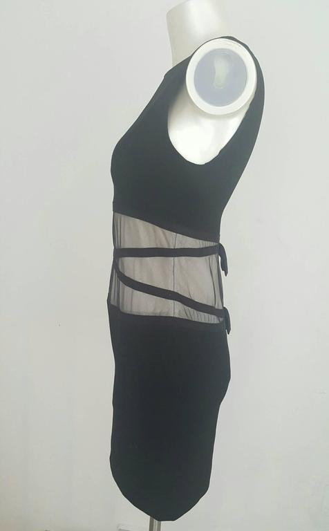 Women's 1990s Moschino Cheap & Chis black dress For Sale