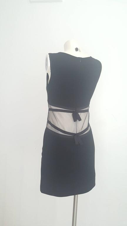 1990s Moschino Cheap & Chis black dress In Good Condition For Sale In Capri, IT
