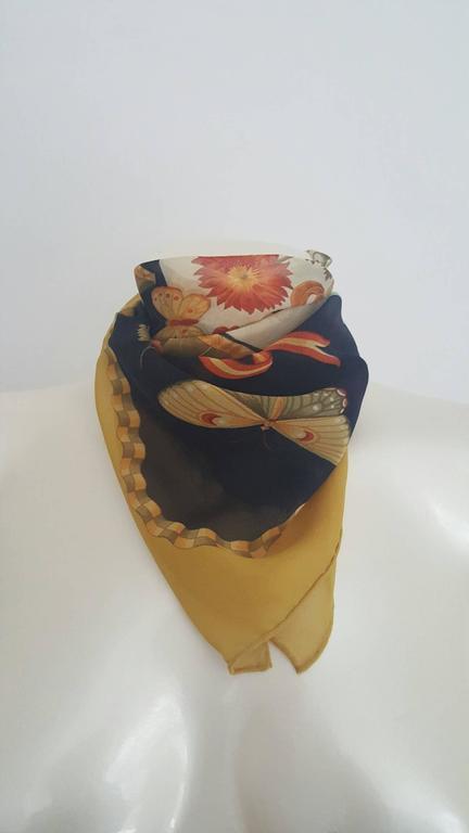 1980s Salvatore Ferragamo multicolour foulard 2