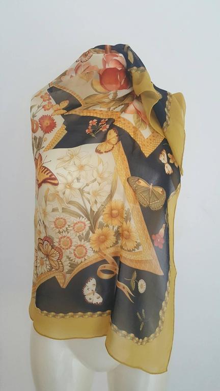 1980s Salvatore Ferragamo multicolour foulard 3