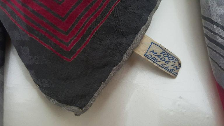 1990s Salvatore Ferragamo multicolour foulard   3