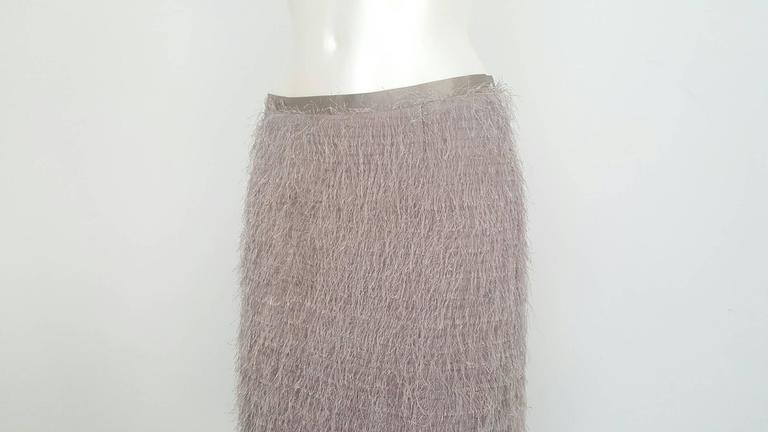 Gray 1990s Blumarine grey skirt NWOT For Sale