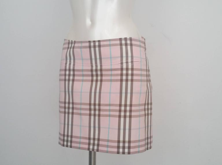1990s Burberry London Skirt  2