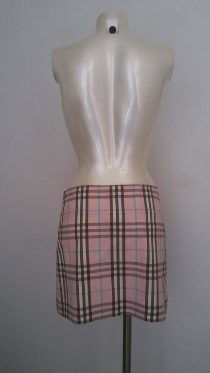 1990s Burberry London Skirt  4