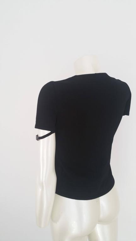 1990s Gucci black shirt 