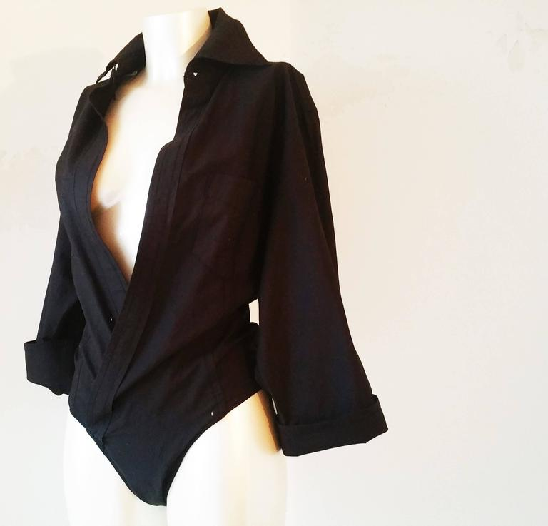 2000s Dsquared2 Black body shirt