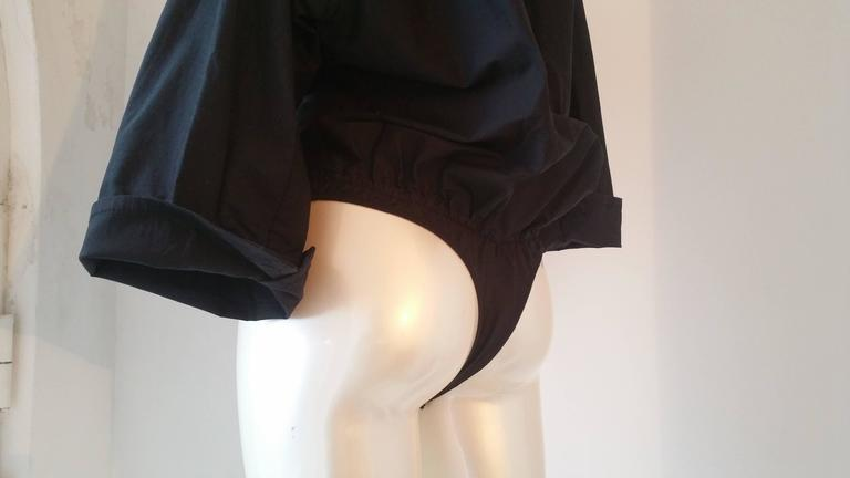 Women's 2000s Dsquared2 Black body shirt NWOT For Sale