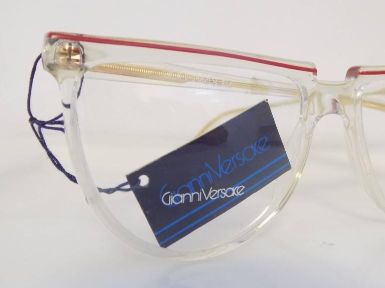 1980s Gianni Versace glasses NWOT 4