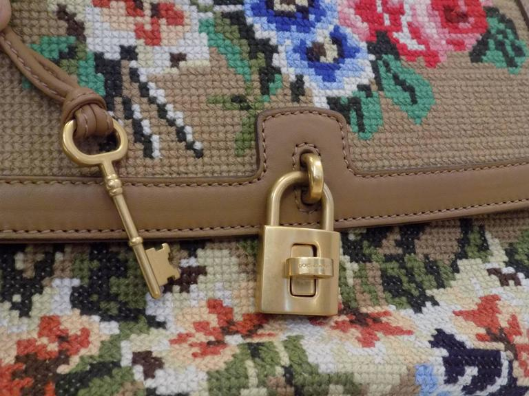 Dolce & Gabbana Needlepoint Bag 5