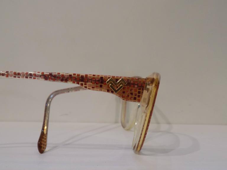 Mario Valentino fram - glasses 3
