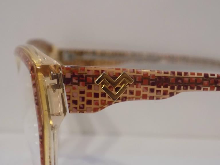 Mario Valentino fram - glasses 4