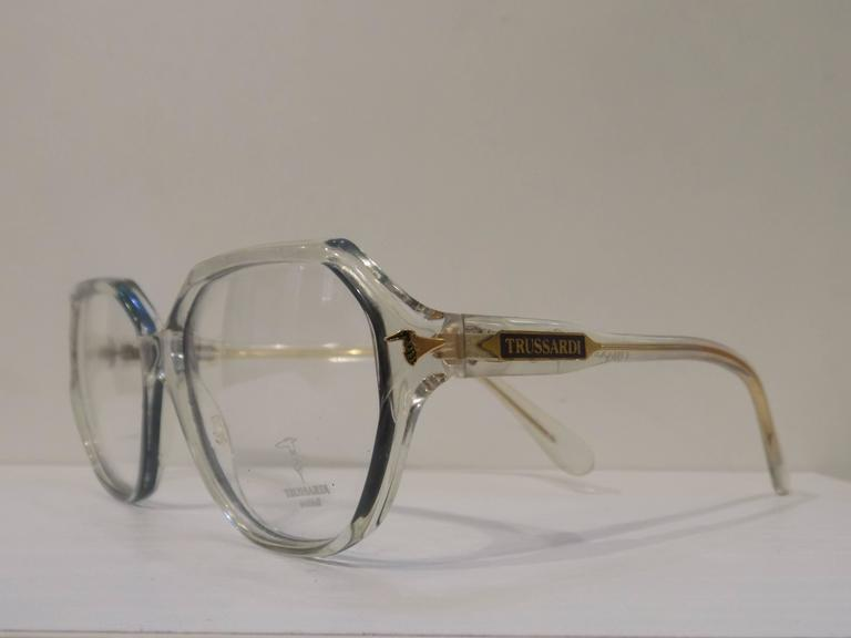 1980s Trussardi Frame - Glasses 2