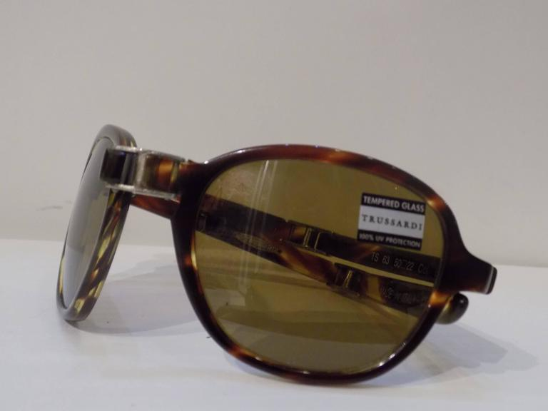 1980s Trussardi frame- glasses 2