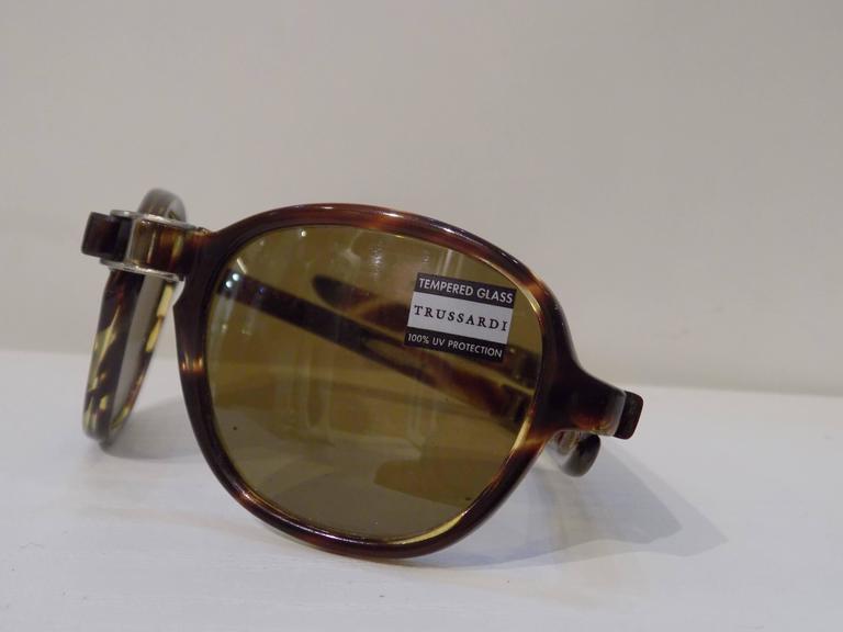 1980s Trussardi frame- glasses 3