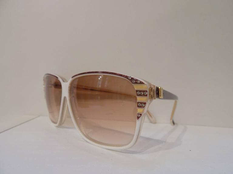 Brown 1980s Nina Ricci Sunglasses For Sale
