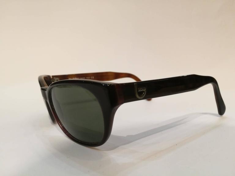 Black Byblos brown sunglasses For Sale