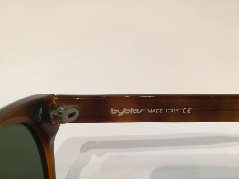 Byblos brown sunglasses 4