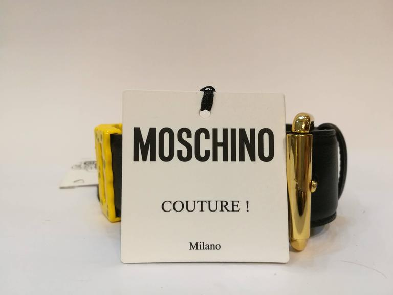 Women's Moschino Spongebob Effect Chocker NWOT  For Sale