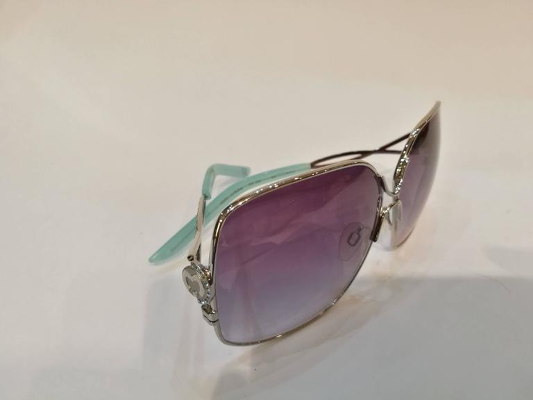 Gray Mila Schon Multitone Sunglasses For Sale