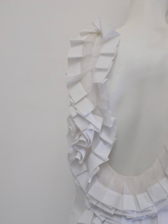 Ermanno Scervino white knitwear 3