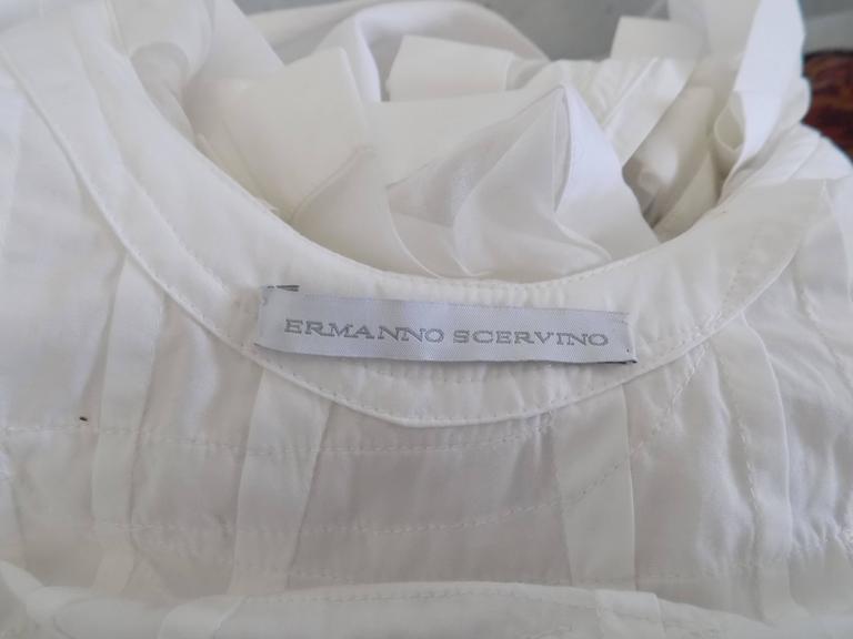 Ermanno Scervino white knitwear 6