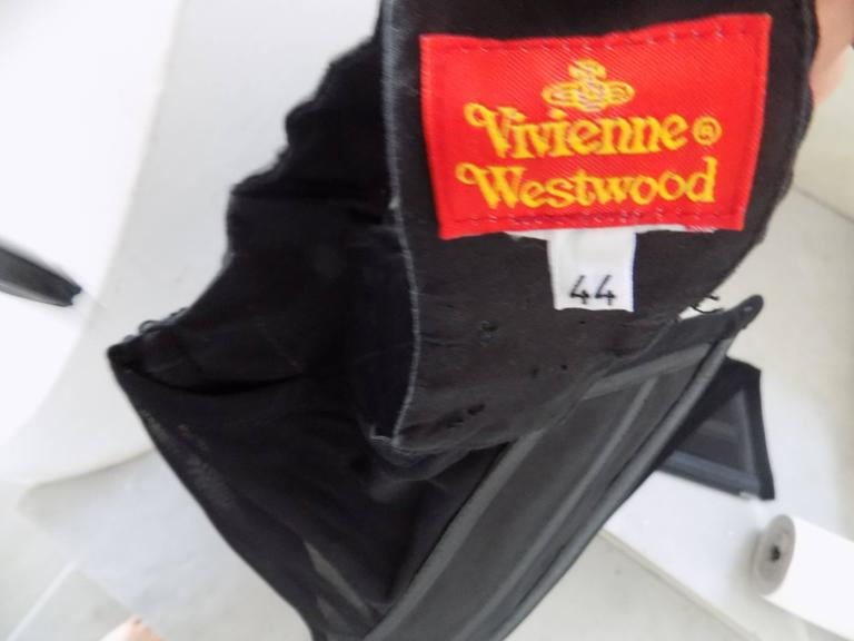 Women's Vivienne Westwood black corset For Sale