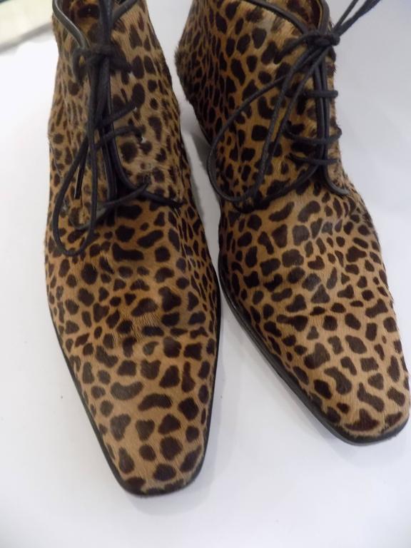 Black Duccio Del Duca pony hair shoes For Sale