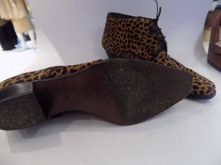 Duccio Del Duca pony hair shoes In Good Condition For Sale In Capri, IT