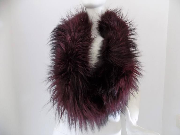 Gucci real fur Scarf Totally made in italy can be sold separetely or together with hat and muffs check out other listings