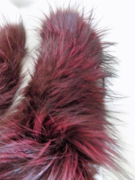 Gucci real fur Scarf In New Condition For Sale In Capri, IT