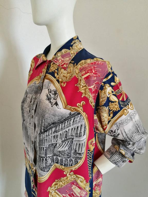 Moschino multicolour shirt In Excellent Condition For Sale In Capri, IT