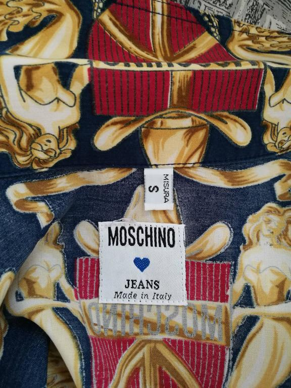Women's or Men's Moschino multicolour shirt For Sale