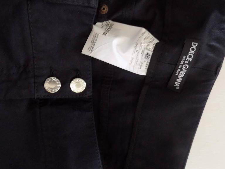 Women's Dolce & Gabbana Black trousers For Sale