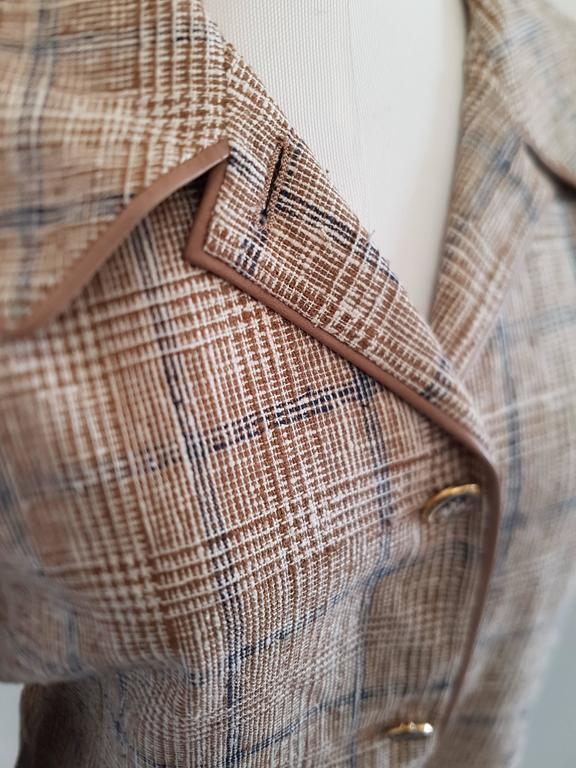 Brown Hermes Jacket For Sale