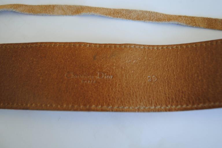 Christian Dior Belt 8