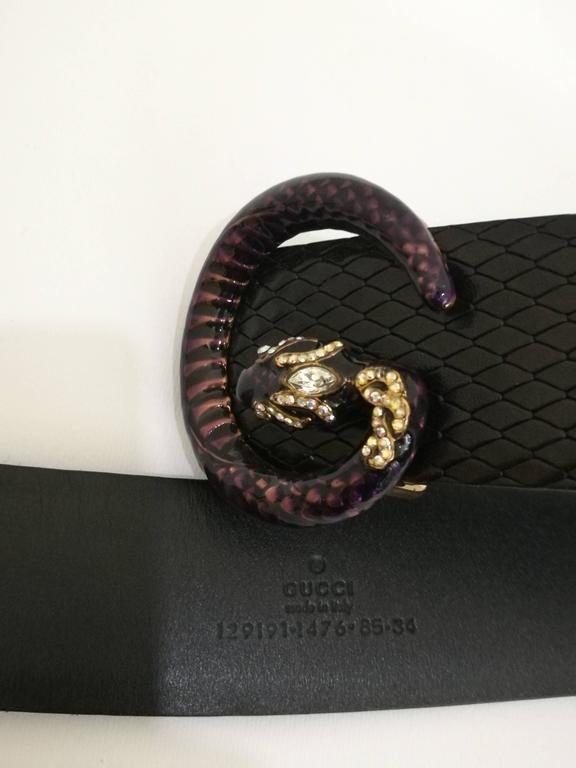 Gucci Black Belt 2