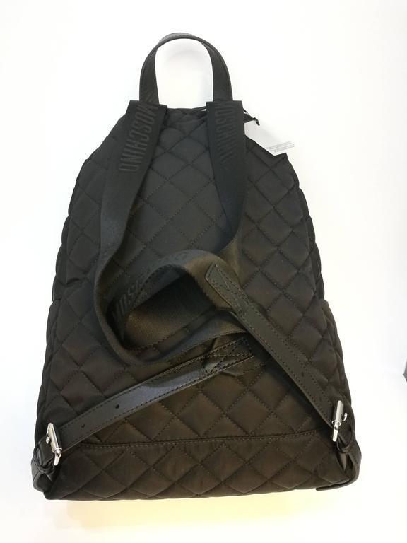 Moschino black backpack 3