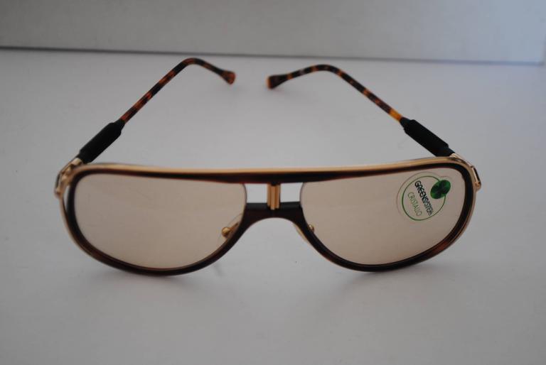 Men's Alitalia Brown tortoise Sunglasses