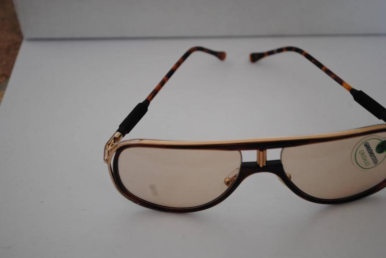 Alitalia Brown tortoise Sunglasses 1