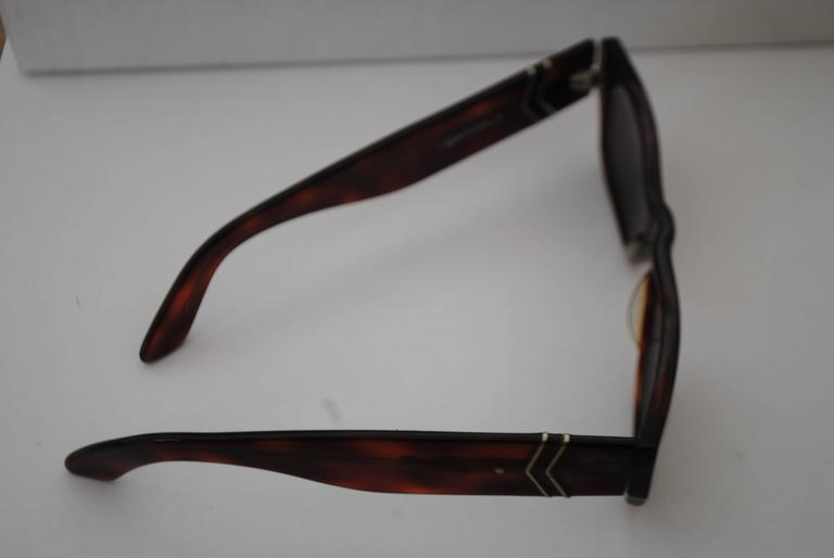 Black Vogart Police Brown Sunglasses For Sale