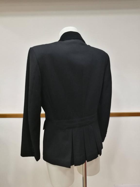 Women's Vintage Oliver by Valentino Black Jacket For Sale