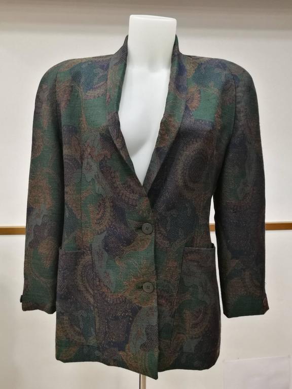1980s Christian Dior Vintage Jacket 2